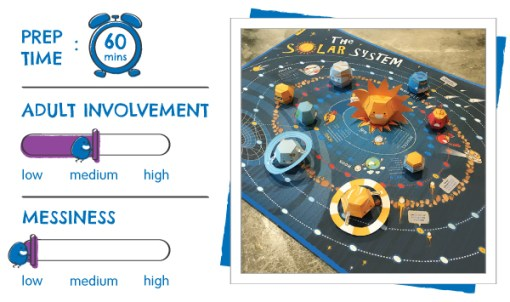 Atom & the Dot | How To Not Fall Down | Gravity, Balance & Center of Gravity | Play 1 3D planets and the solar system