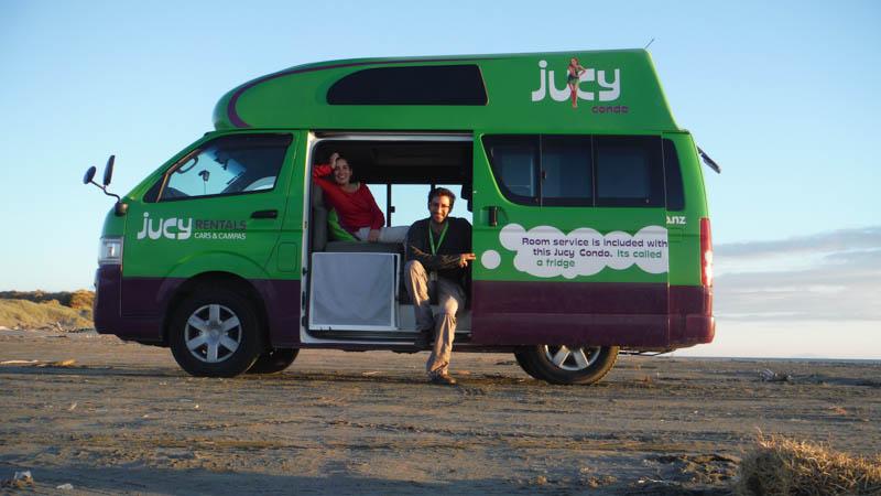 Cómo elegir caravana en Nueva Zelanda