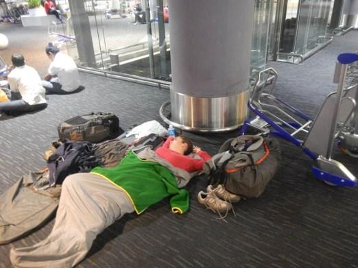 Cómo dormir en la vuelta al mundo