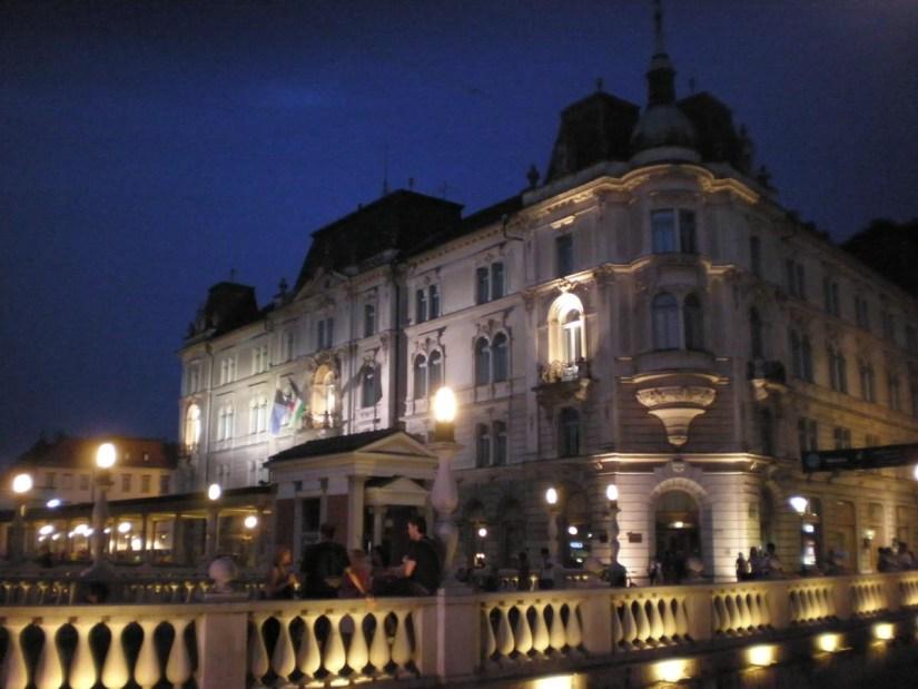 Liubliana de noche