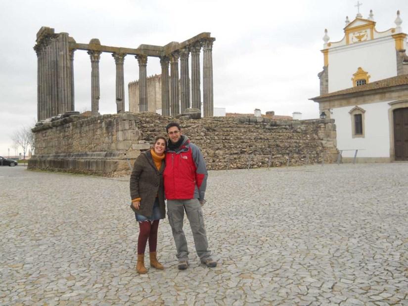 Ruinas de Evora, Portugal