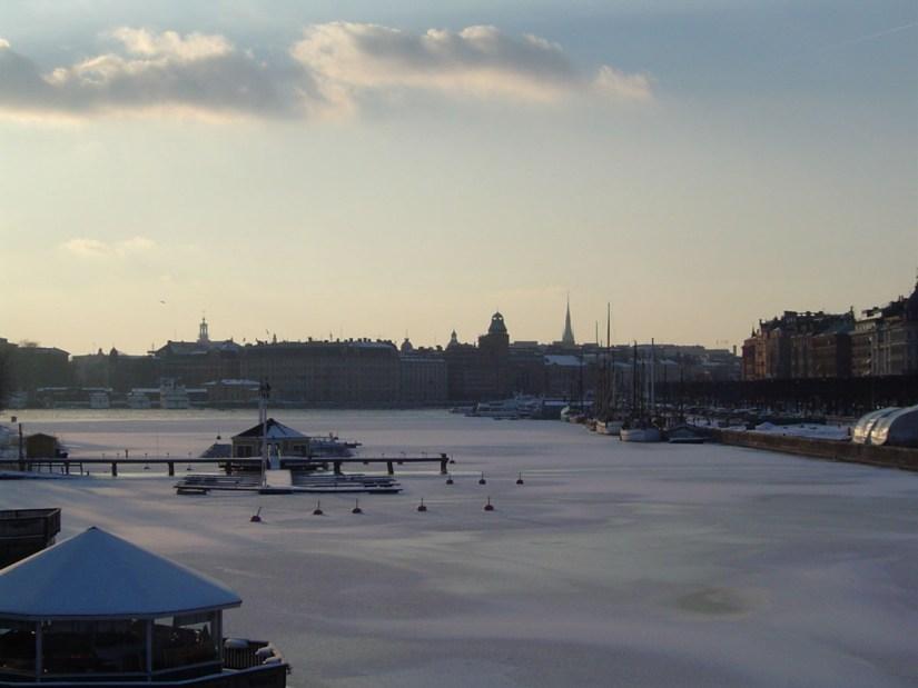 Estocolmo nevado