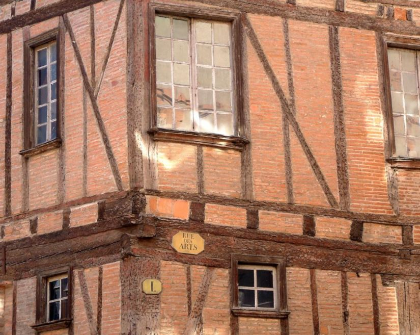 Ciudad rosa, Toulouse