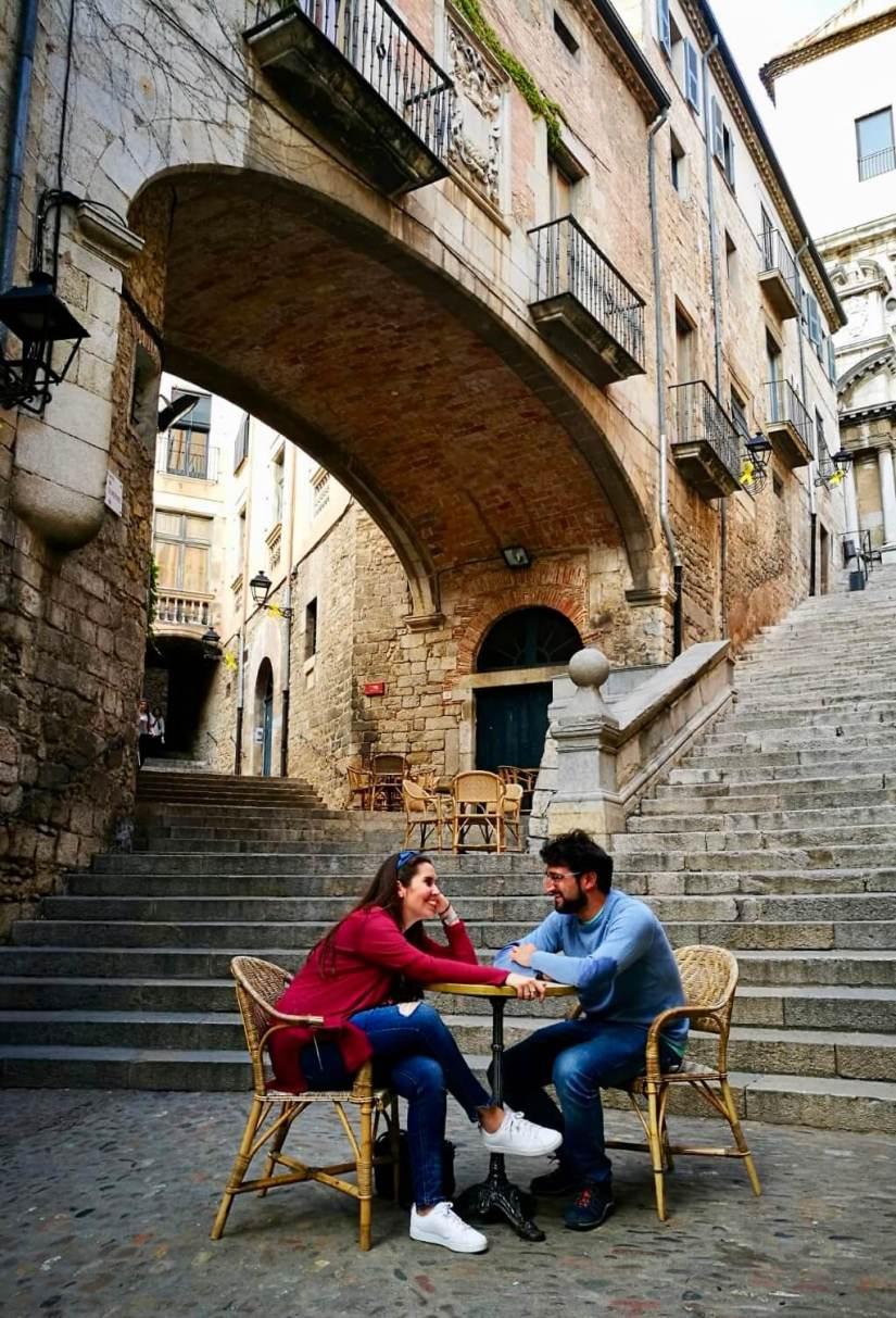 Terraza Le Bistrot en Girona
