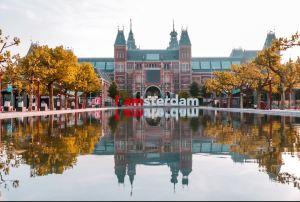 Letras centro de Amsterdam