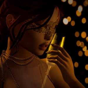 """""""Gold'n'glam"""" by Aleriah"""