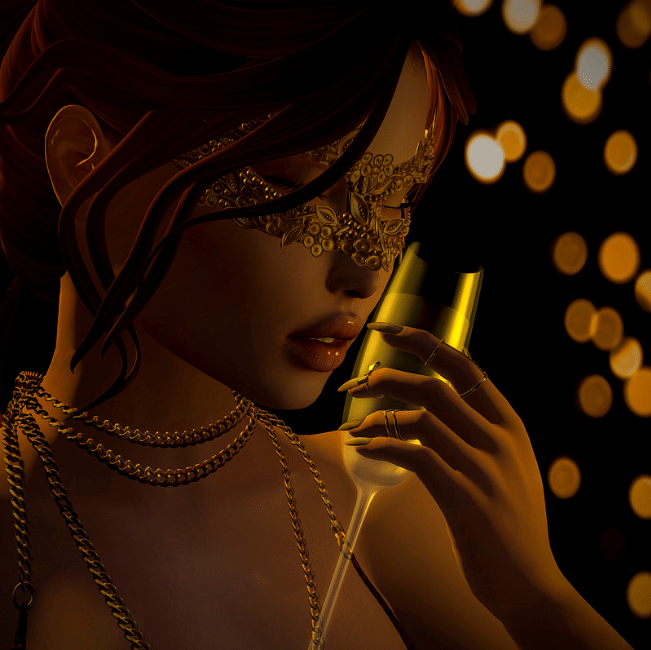 """Gold'n'glam"" by Aleriah"