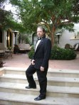 At Buster Keaton's Beverly Hills Estate for the LA Conservancy Annual Benefit
