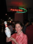 Closing night and candlelight vigil at the infamous (Big Lebowsky) Hollywood Lanes Bowling Alley