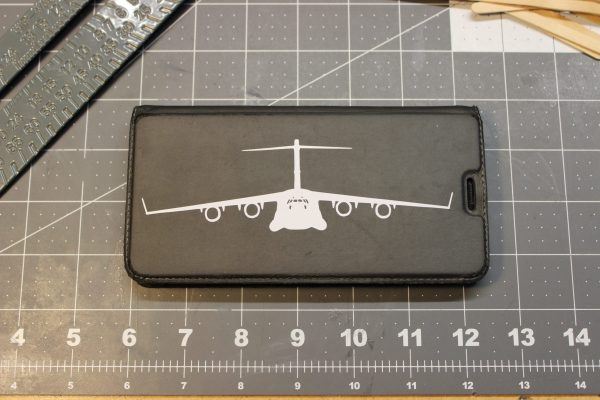 C17 Decal on Phone Case