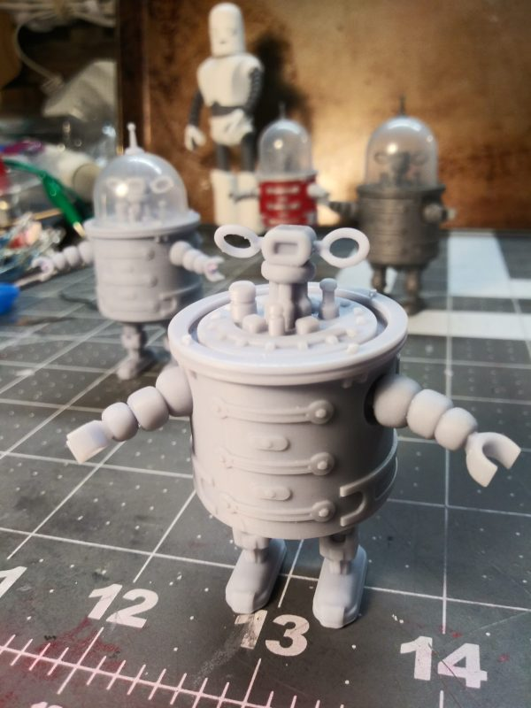Robot Model Kit - unpainted