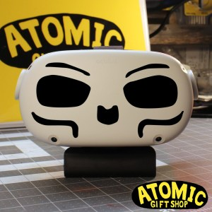skull face decal