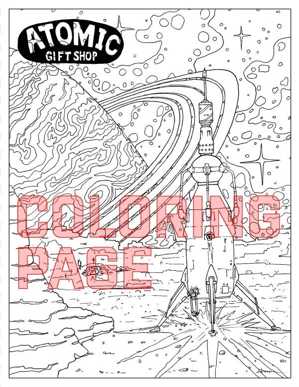 product shot of coloring page