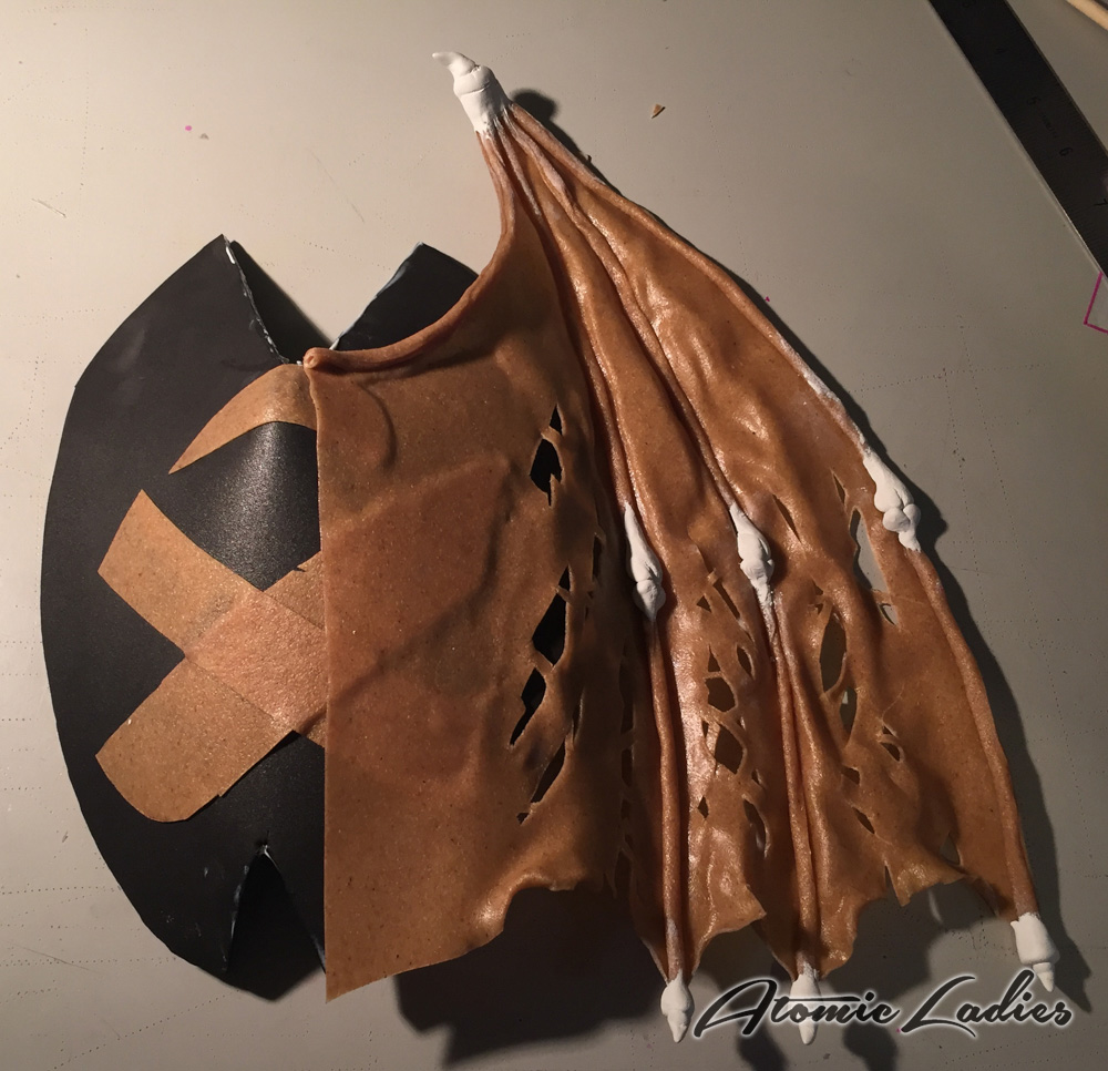 How to Make a Judge Death Shoulder Piece
