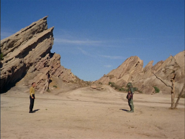 Vasquez Rocks in Star Trek's original series.