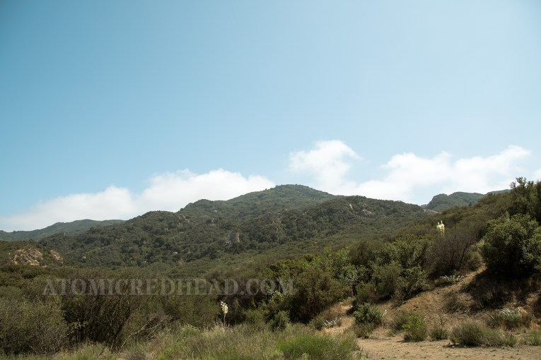 The hills shown in the opening sequence of the show.