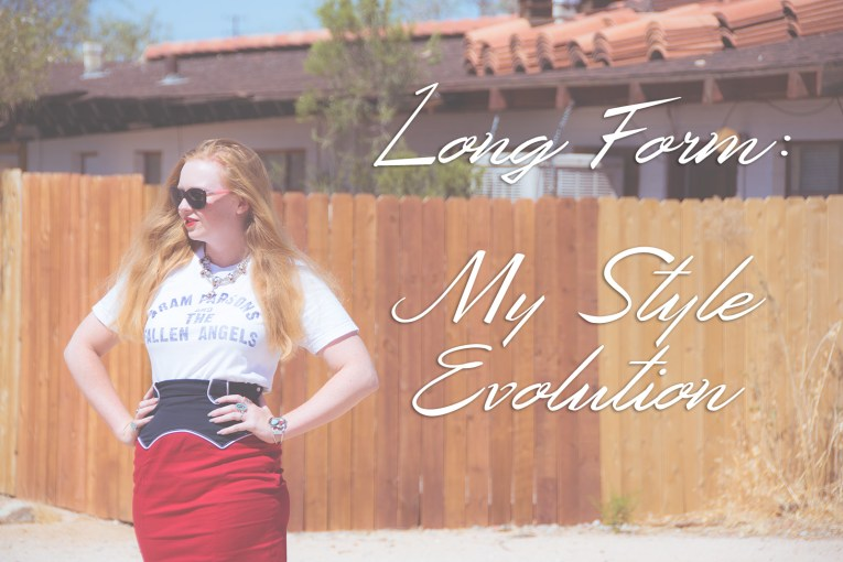 Long Form: My Style Evolution banner