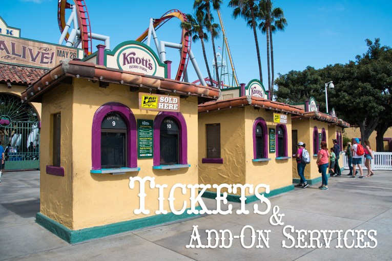Tickets & Add-On Services