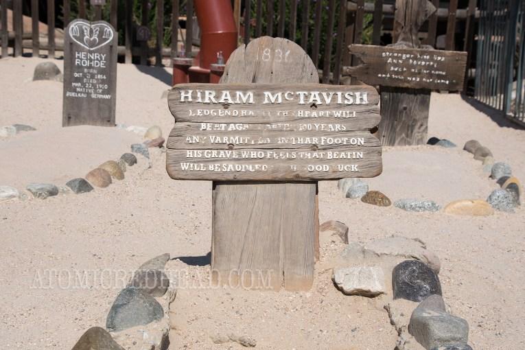 Visit McTavish's grave!