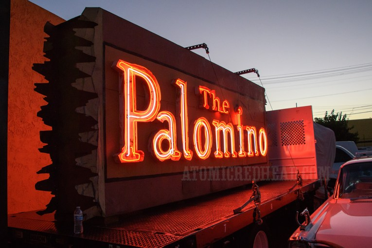 The sign of The Palomino.