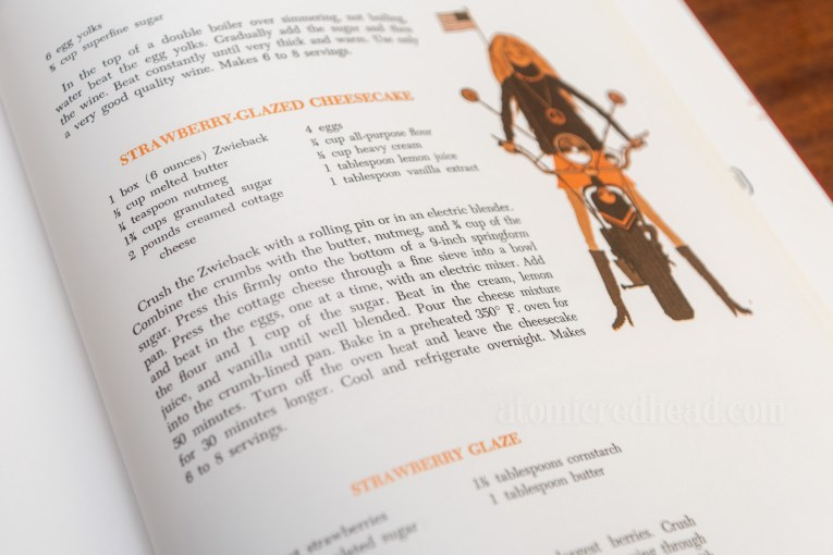 Photograph of the recipe in the book.