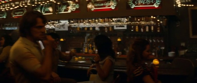 The bar inside Casa Vega as it appears in the film.