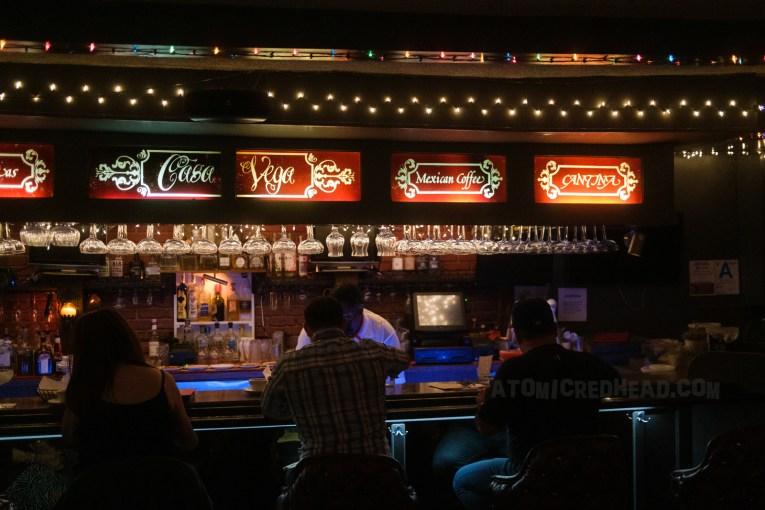 The bar today, virtually identical.