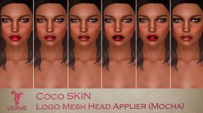 Verve Coco Logo Mesh Head Mocha