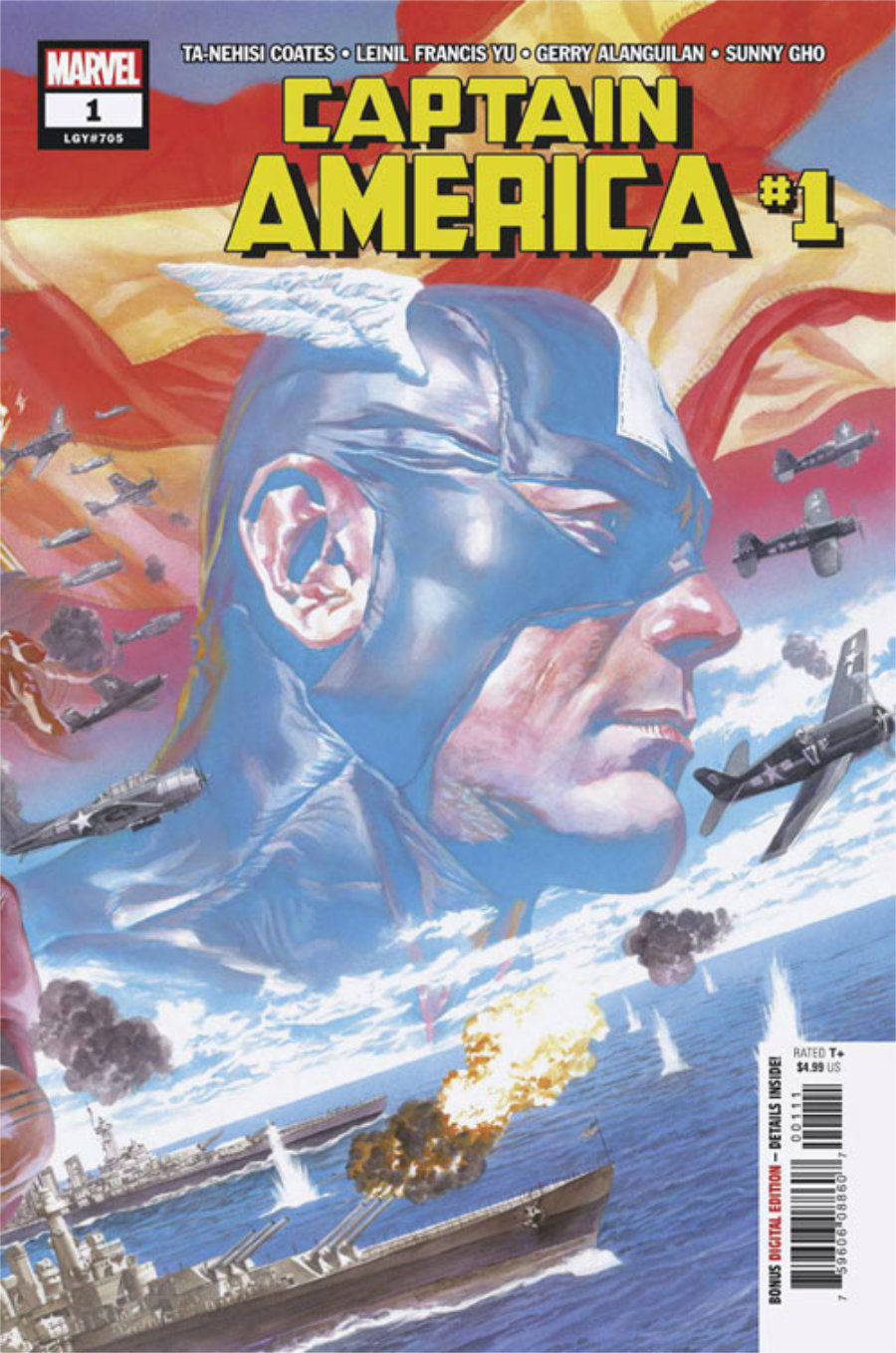 Captain America #1, July 2018