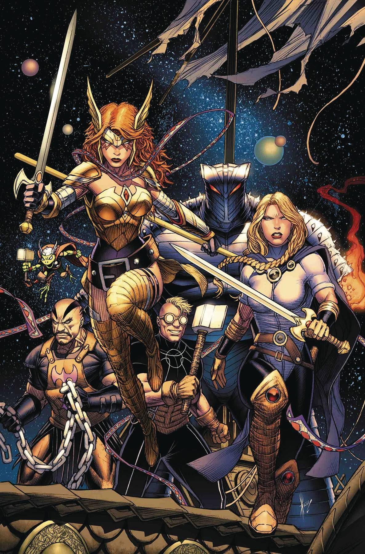 Asgardians of the Galaxy #1, 2018