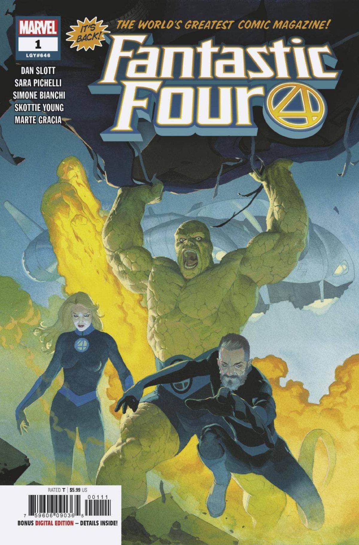 Fantastic Four #1, 2018
