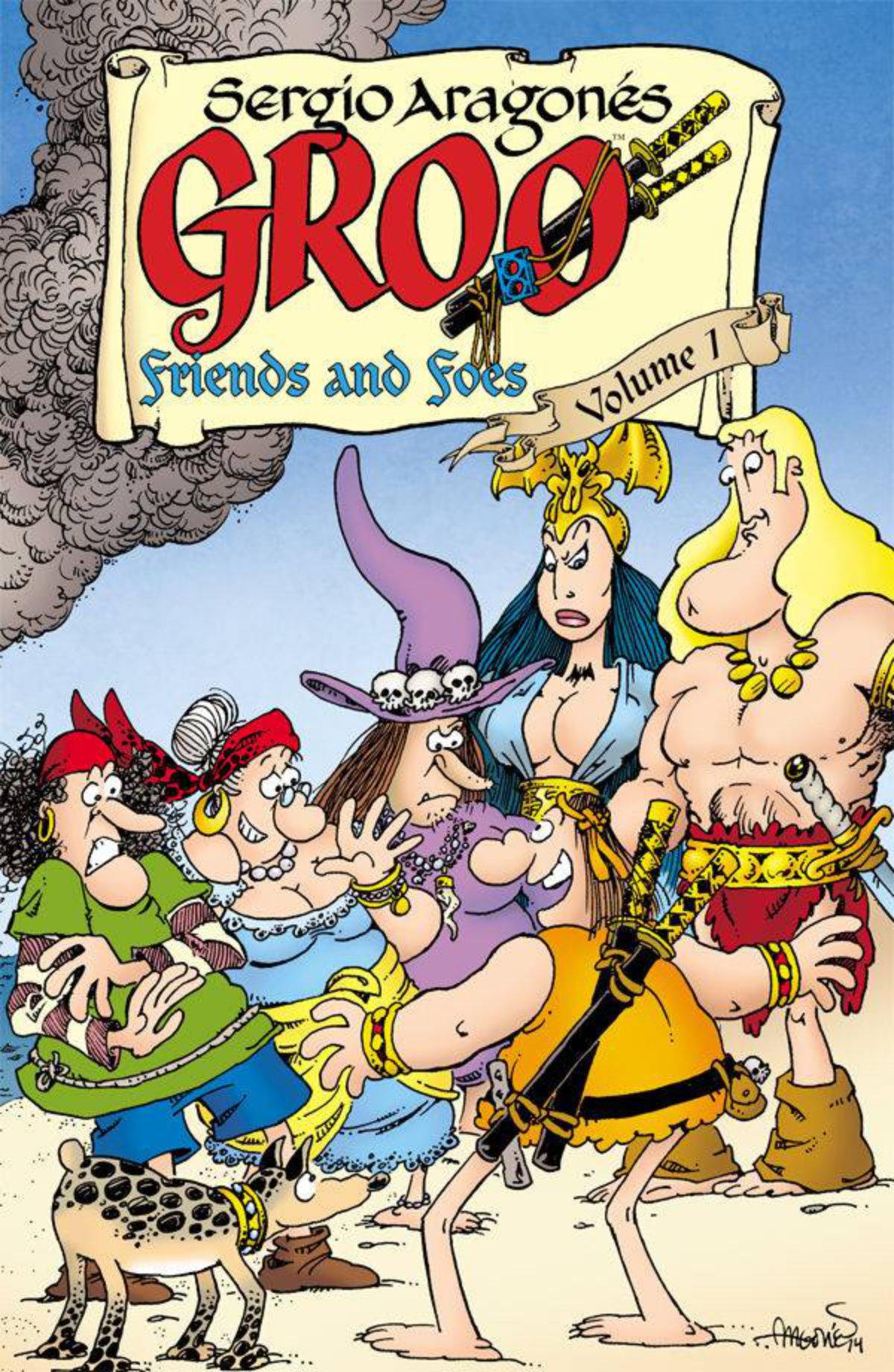 Groo by Aragones and Evanier