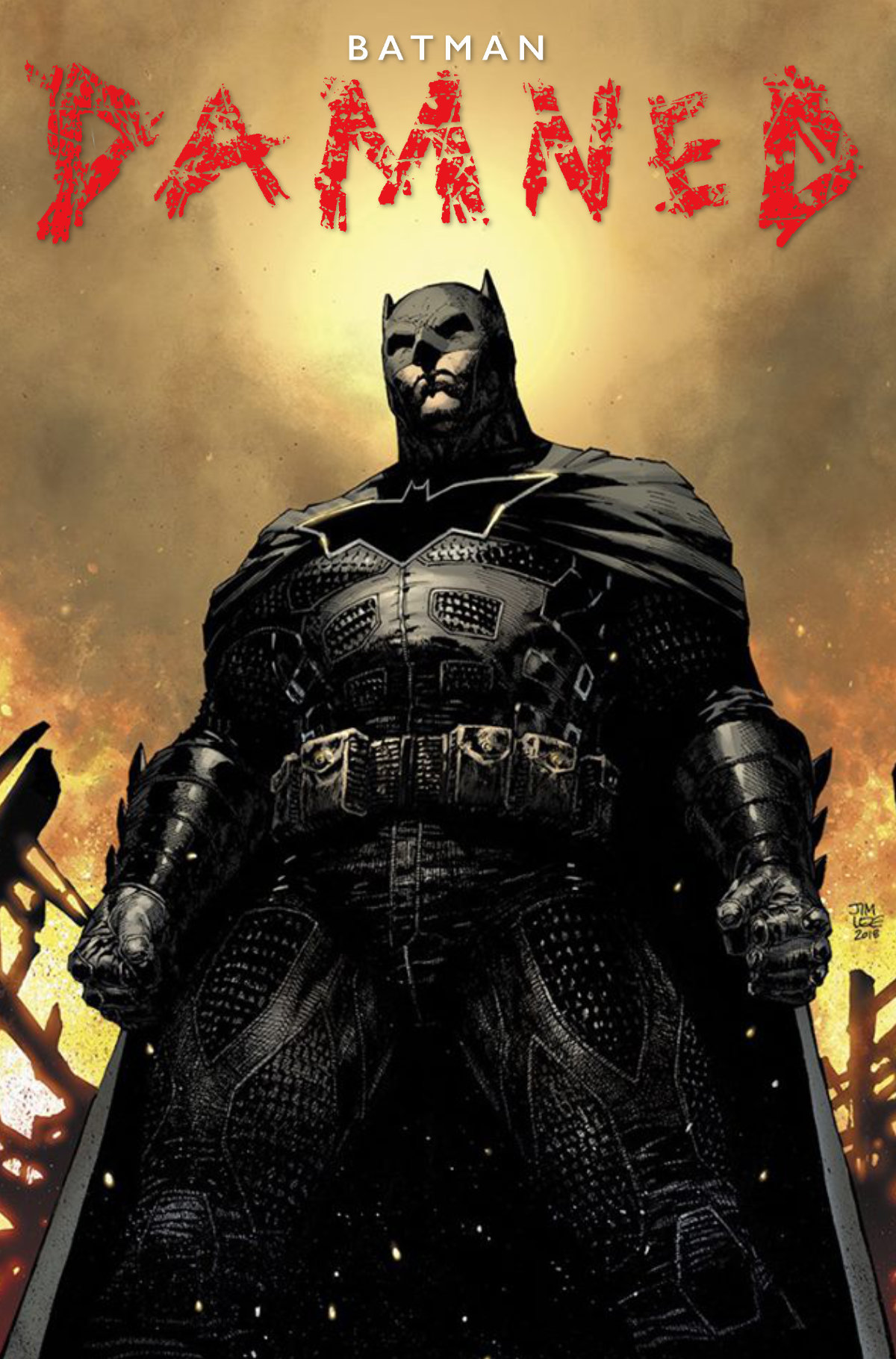 Batman Damned #2 Jim Lee Variant