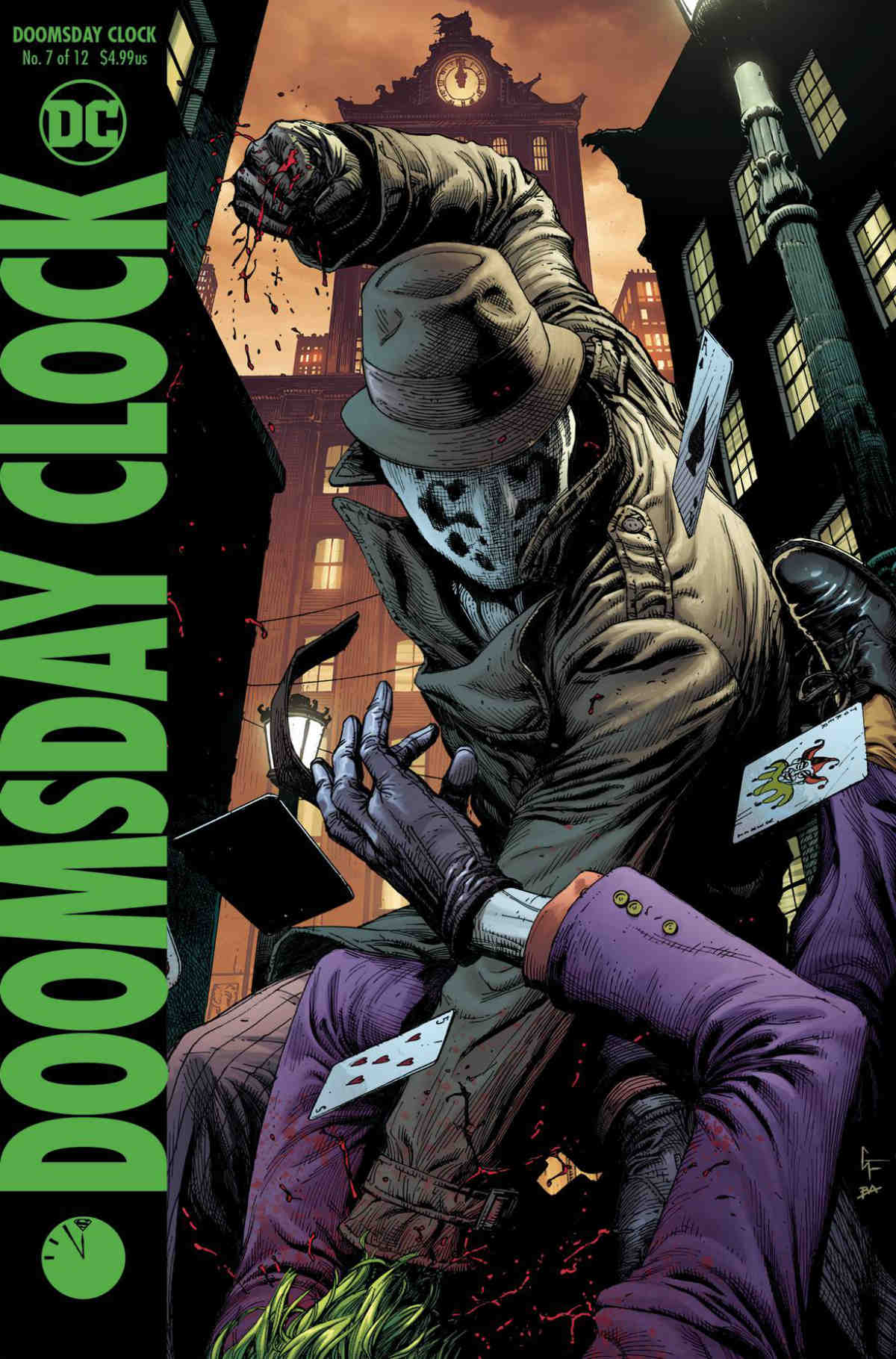 Doomsday Clock Hc Vol 02 With Slipcase Atomik Pop