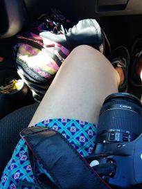 Horas en el auto