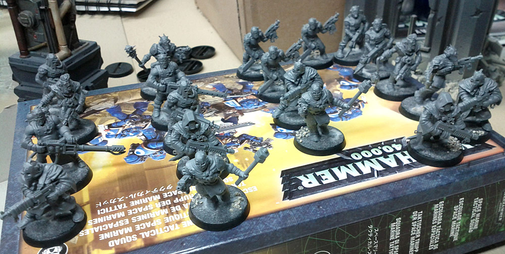 Painting Chaos Cultists: Quick and Easy, Part One (1/5)