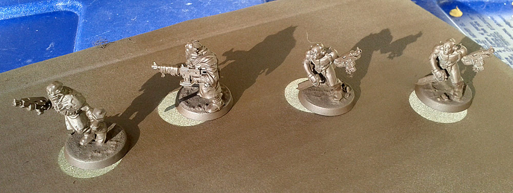 Painting Chaos Cultists: Quick and Easy, Part One (2/5)