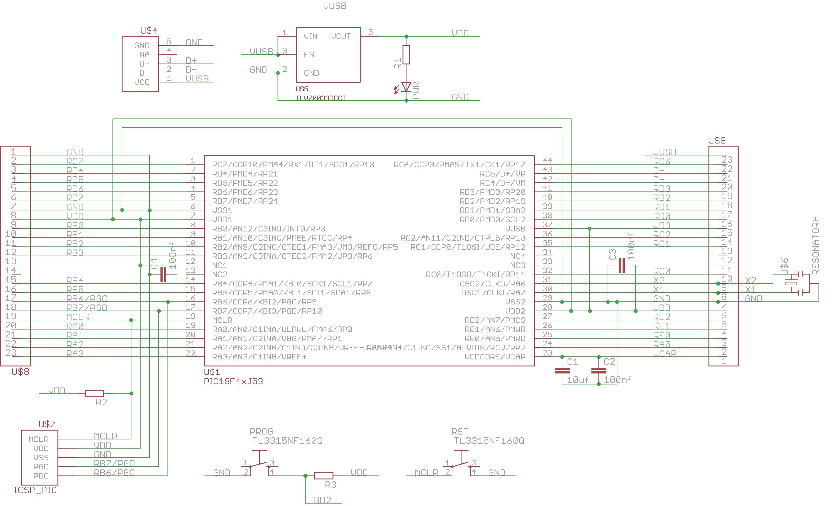 Pic18f4xj5x Explorer V2