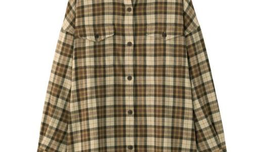 GUフランネルチェックロングシャツのコーデまとめ!人気色やサイズ感も