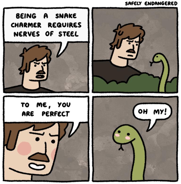 El encantador de serpientes The snake charmer