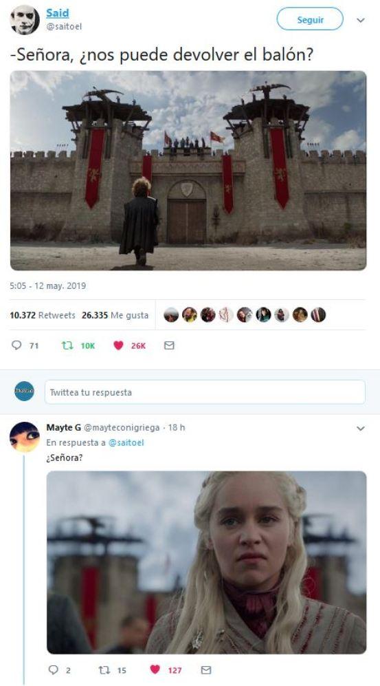 A Tyrion Lannister se le cuela el balón