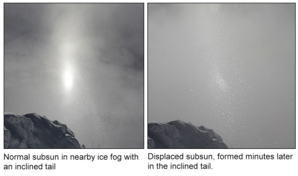 Double subsun on Mt. Wendelstein (1838m).