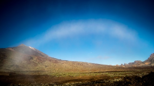 Tenerife fogbows