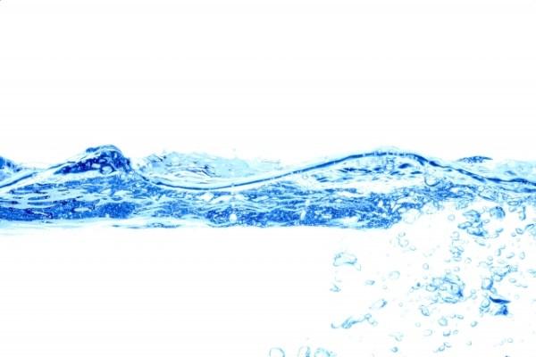 温泉水の水