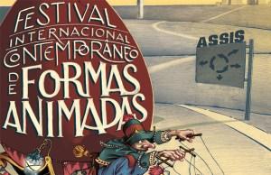 Divulgação do ROTAS - Festival Internacional Contemporâneo de Formas Animadas