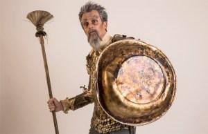 Foto divulgação do musical O Homem de La Mancha