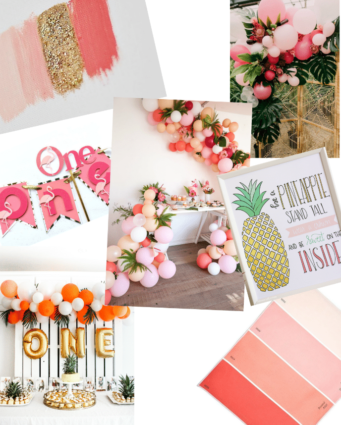 Flamingo and Pineapple Party Inspiration