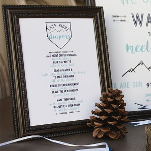 5 x 7 Party Sign