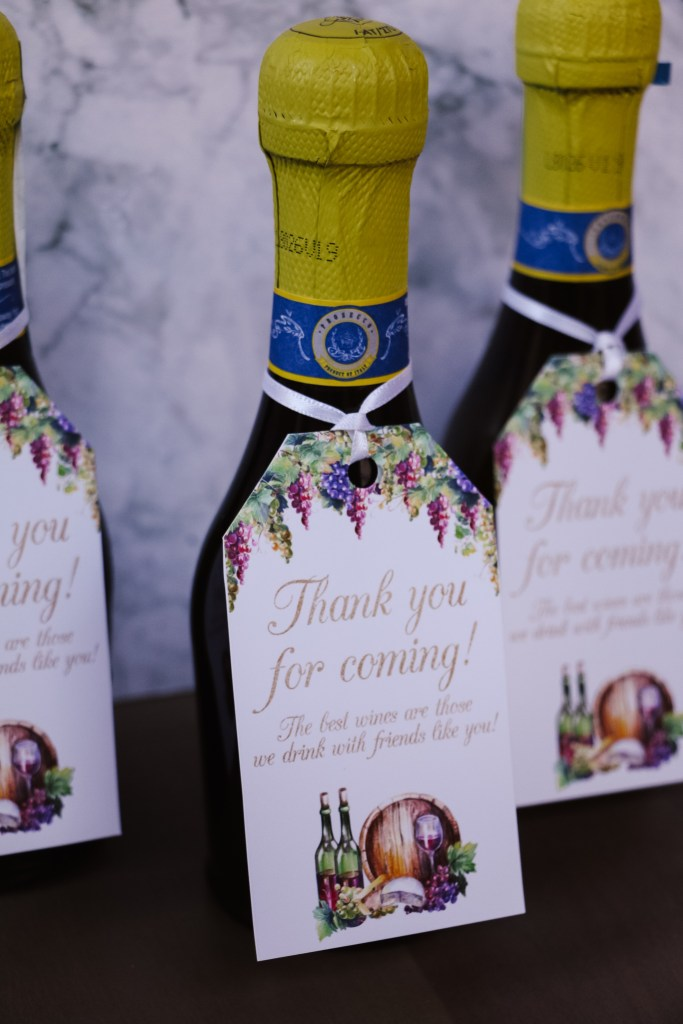Wine Tasting Party Favors