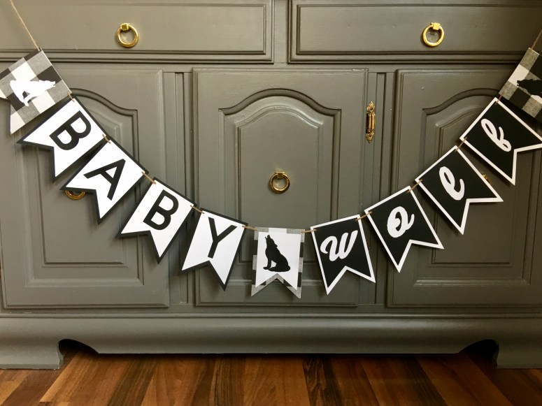Party Themes for Cold Weather: Wolf Baby Shower
